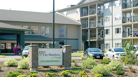 The Hamlets at Westsyde Residential Care Community. Kamloops, BC