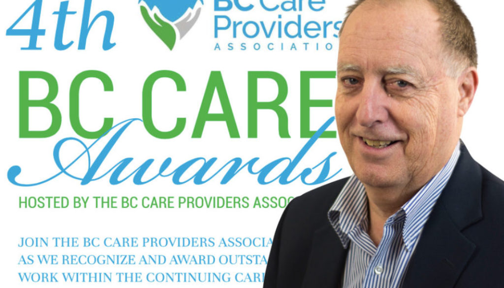 Tom Crump Receives BC Care Award